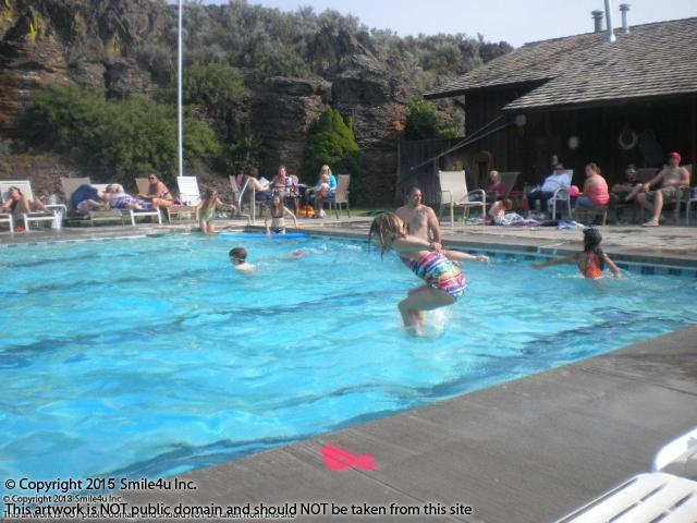 Family fun at the swimming pool at rimrock meadows in eastern washington this property for sale for East meadow pool swimming lessons