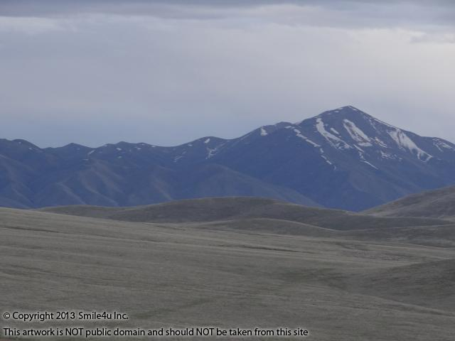 This mountain peak to the south is part of the Cortez Mountains in Eureka County, Nevada and close to Mount Tenabo which you can also see from this 10 acres for sale!