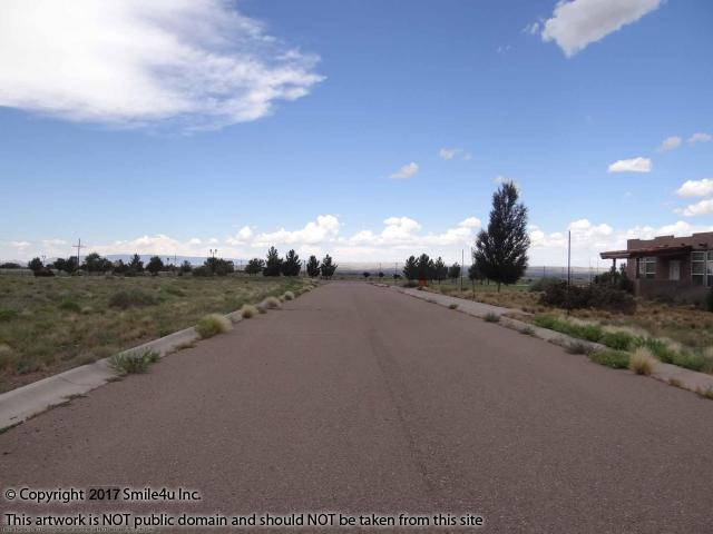 <B>1 acre commercial lot for sale in Carrizozo, New Mexico has great exposure to Highway 380 and sits on a paved road with water in the street! It