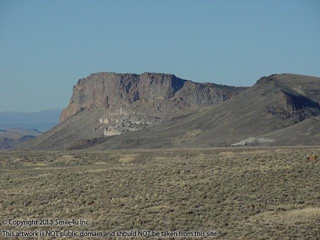 The Majestic Rhyolite Butte sits just northeast of these two 10 acre properties for sale in the Tecoma Valley in Elko County Nevada