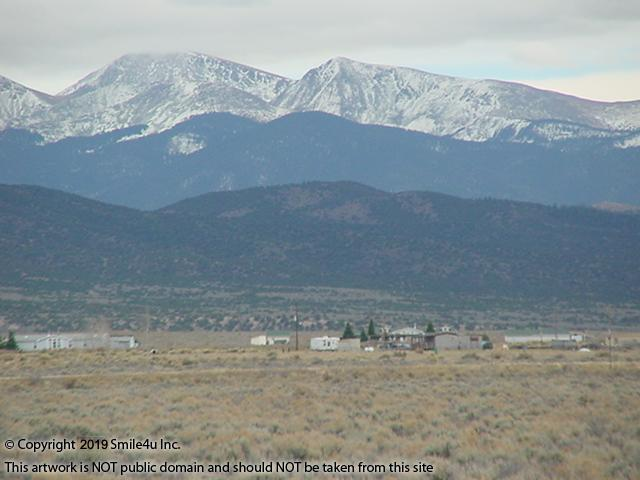 <B>4.34 acres in San Luis, Colorado with big views of the snow capped Sangre de Cristo Mountains! It