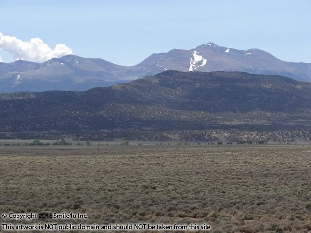 <B>5.01 acres in San Luis, Colorado with a beautiful view of the Sangre de Cristo Range of the Rocky Mountains! It sits about 3 hours SW of Denver in the San Luis Valley about 1/4 mile from the paved road! They still had a bit of snow when I visited in May 2018.